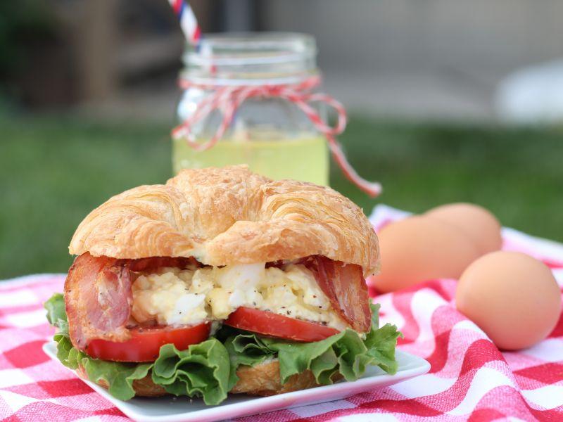 Ranch BLT Egg Salad Sandwich