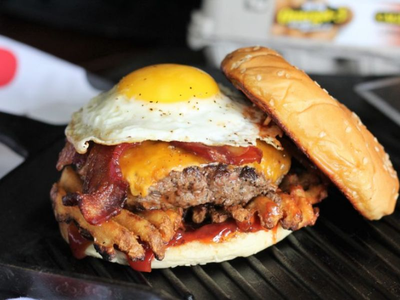 Father's Day Breakfast Burger