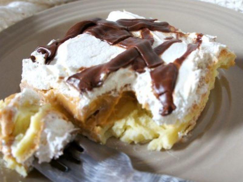 Chocolate Pumpkin Eclair Dessert