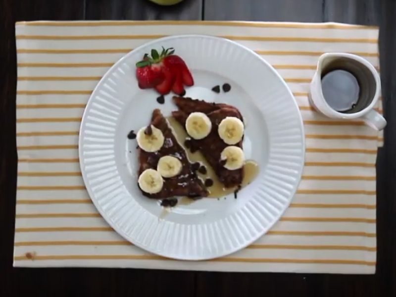 Chocolate Milk French Toast