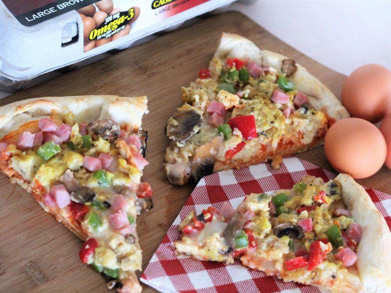 Omelet Pizza